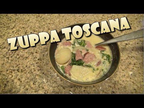 ZUPPA TOSCANA - Copiando la receta de Olive Garden - YouTube