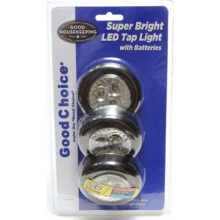 Good Choice 3pk LED Puck Lights