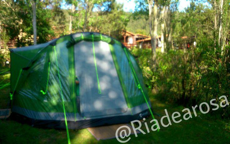 Tienes una tienda grande? Eso no es problema para nosotros! #letsgocamping #camping