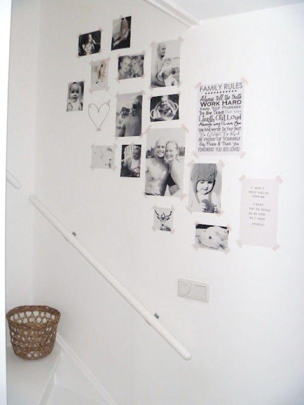 25 beste idee n over fotolijst muren op pinterest decoratieve frames muur decor ambachten en - Grijze taupe kleurenkaart ...