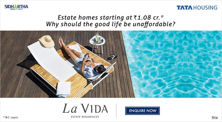 TATA LA Vida is a magnificent housing project by TATA Housing is a reputed real estate company which has been developing numerous world class residential and commercial projects. The company works to fulfill the requirements of its customers with innovation, dedication, experience and quality construction. http://www.lavidagurgaon113.in#tatahousing #tatalavida #tatanewlaunch #lavidaresidences #tatasector113 #tatahousinglavida