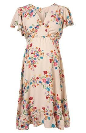 floral maternity dresses | Jessica Alba Maternity Fashion Style Clothes | Celebrity Maternity ...