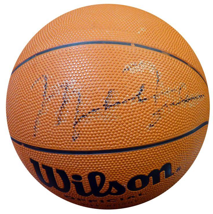 Michael Jordan Autographed Wilson Basketball Chicago Bulls Vintage Signature PSA/DNA #AB06440