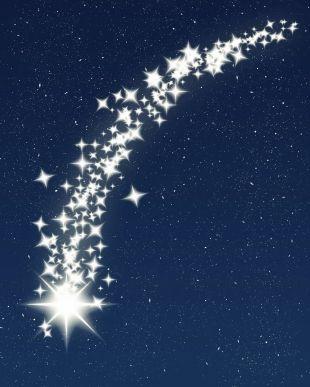Resultado de imagen para imagenes estrellas fugaces
