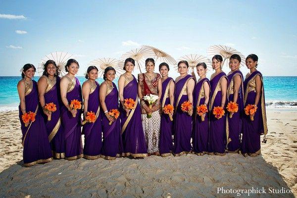 bridal party http://maharaniweddings.com/gallery/photo/16519
