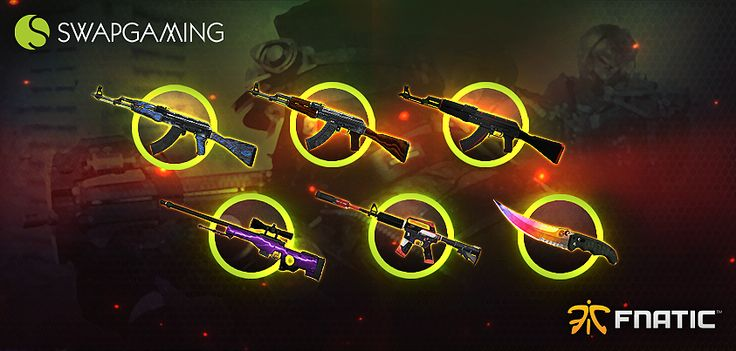 I just signed up for the Swap Gaming & Fnatic giveaway! Take part now, it's easy: