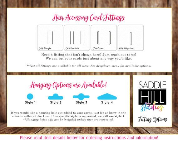 • Rounded Rectangle Hair Bow Cards • We customize these cards for you! • Quantity is determined by the size you select. • Available in the following sizes: › 2x2.5 Set of 90 Cards › 2x3 Set of 75 Cards › 2x4 Set of 60 Cards › 2.5x3 Set of 60 Cards › 2.5x5 Set of 36 Cards › 3x3.75