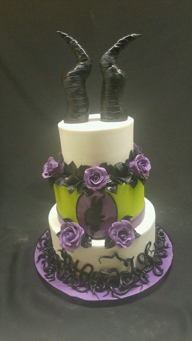 Maleficent cake. Magnificent!