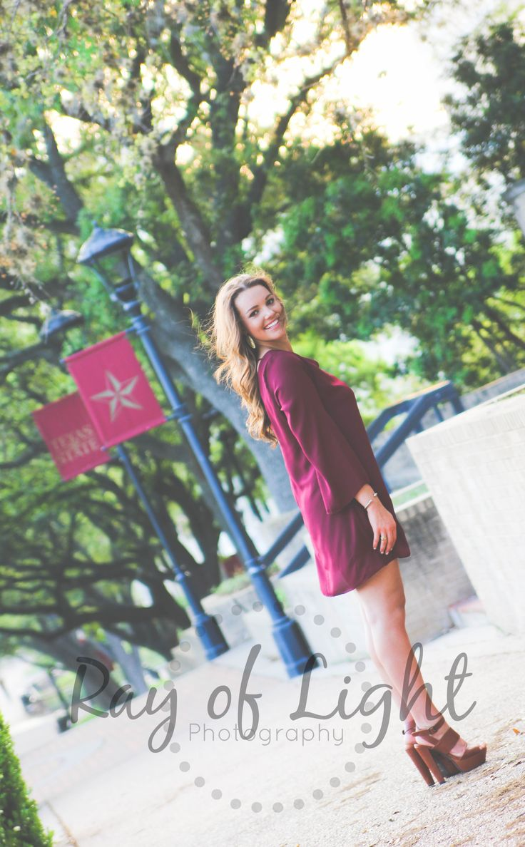 Senior Picture Photography- Texas State University   https://www.facebook.com/pages/Ray-of-Light-Photography-By-Rachel-Sipe/140310649422504