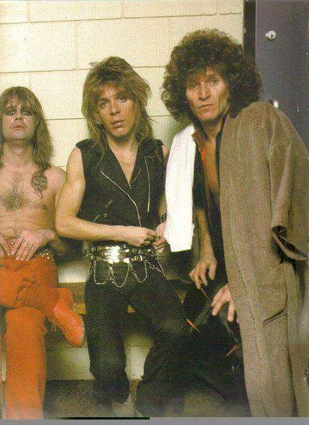 Randy Rhoads ,Ozzy Osbourne and Tommy Aldridge.............