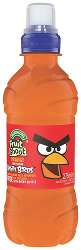 Fruit Shoot Angry Birds, Orange