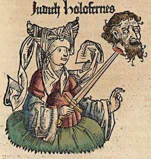 Nuremberg chronicles f 69r 2 - Judith beheading Holofernes - Wikipedia, the free encyclopedia