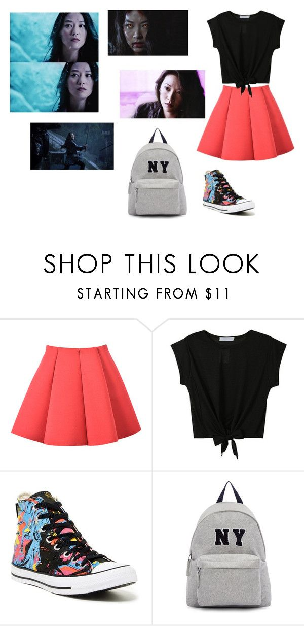 """Kira Yukimura"" by barbi2003 on Polyvore featuring Converse and Joshua's"