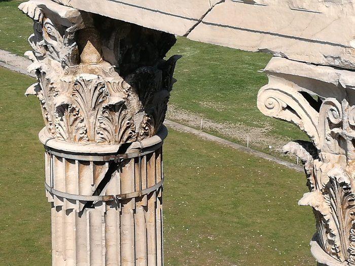 Αρχίζει η αποκατάσταση του ναού του Ολυμπίου Διός