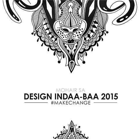 It's almost time for the Design Indaa-Baa! Can't wait to show you what we've done for Mohair South Africa...here's a sneak peek. #DesignIndaba2015 #CapeTown