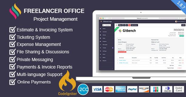 Freelancer Office Project Developed in Php Programming, You