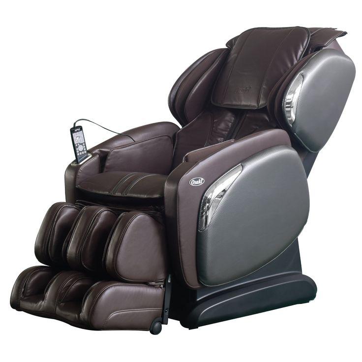 Osaki os4000ls zero gravity heated massage chair brown