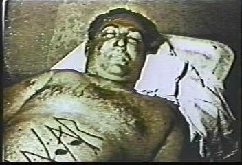 """Sharon Tate and La Bianca murders - Mr. La Bianca. """"WAR"""" was carved into his stomach by Manson """"Family"""""""