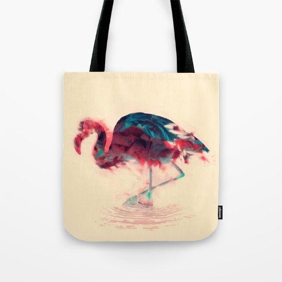 Born Flamingo Tote Bag