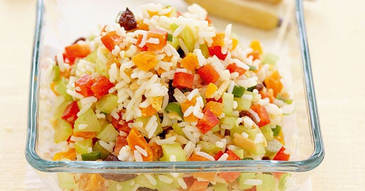 Round off the barbecue with this zesty, fruity rice salad to make your tastebuds come alive!