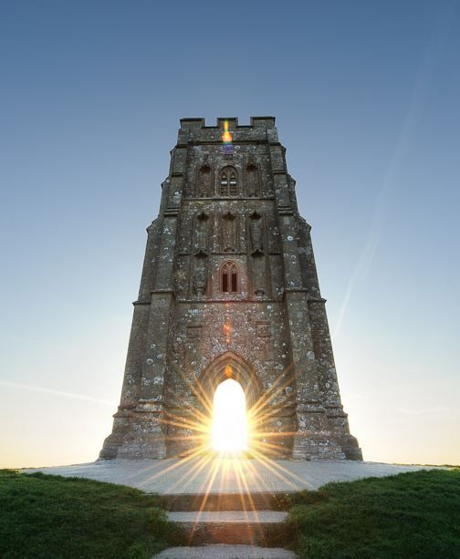 St Michael's Tower, Glastonbury by Stephen Spraggon