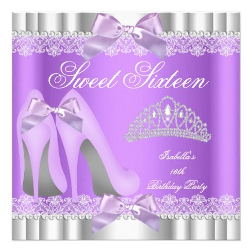 451 Best Elegant 16th Birthday Party Invitations Images On