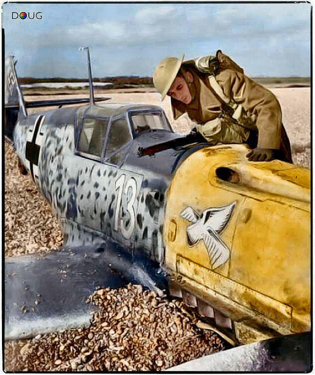 zeedesertfox: A British soldier inspects a... - British Eevee