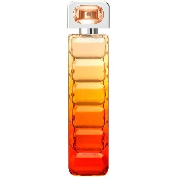 Hugo Boss Boss Orange Sunset 75ml found on Polyvore featuring beauty products, fragrance, hugo fragrance, flower fragrance, blossom perfume, flower perfume and hugo