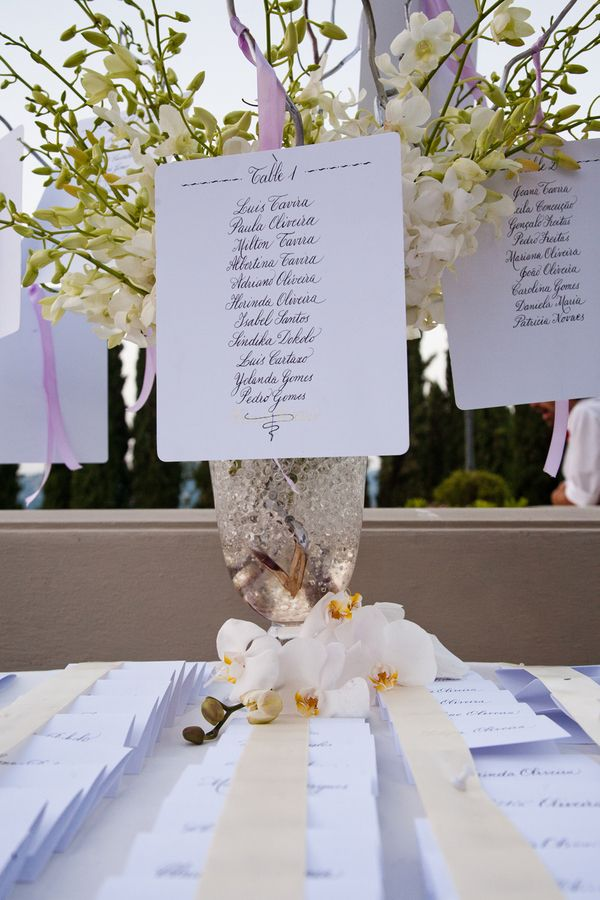seating chart  //  rosapaola lucibelli photography