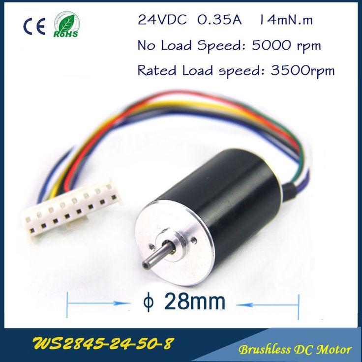 5000rpm 7w 24vdc 0 35a 0 014mn M 28mm 45mm Micro Miniwatt High Speed Brushless Dc Motor Fan Brushless High Speed Tech Gadgets Technology Cheap Electronics