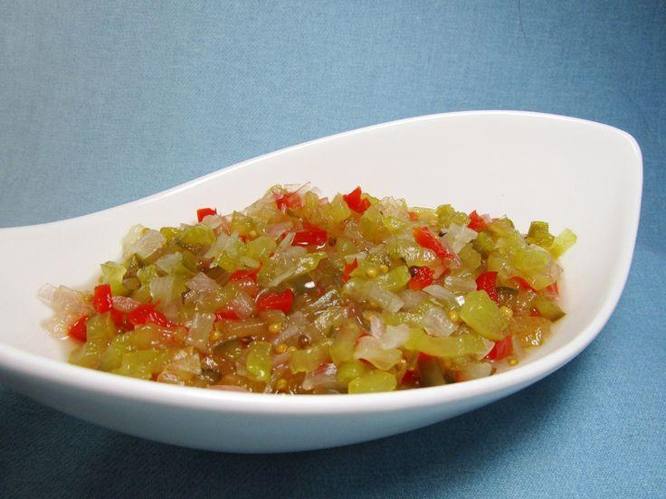 Amerikanisches Gurkenrelish für eine Hamburger Sauce, ein leckeres Rezept aus der Kategorie Kochen. Bewertungen: 6. Durchschnitt: Ø 4,4.