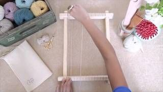 How to warp a loom