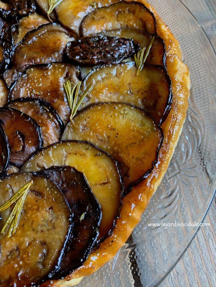 Tarte tatin aux aubergines – #aubergines #aux #Tarte #tatin
