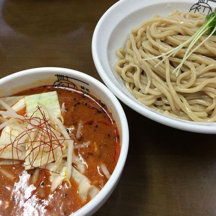 佐野に来てるのに佐野ラーメンじゃなくてつけ麺という( 艸)  #はつがい #ラーメン #つけ麺 #佐野 by syumijin