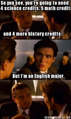What is graduate school like for English major?