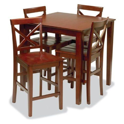 Stakmore metro style pub table and chairs set by stakmore for 99 pub table