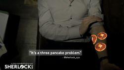 (4) replace sherlock quotes with pancake | Tumblr