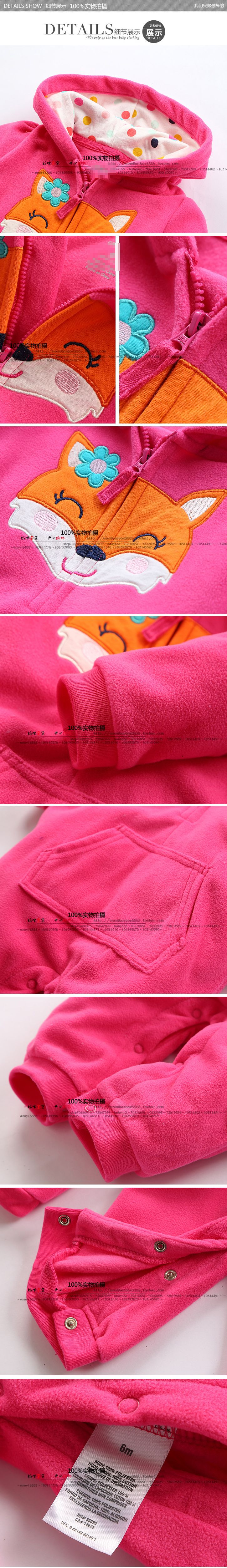 Весна и осень детская одежда ребенка ползунки флиса Одежда для новорожденных Одежда для младенцев один кусок ползунки новорожденных пижамы-inRompers от матери и детей на Aliexpress.com | Alibaba Group