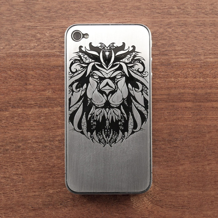 iPhone 4/4S Leo Plate  by Andreas Preis