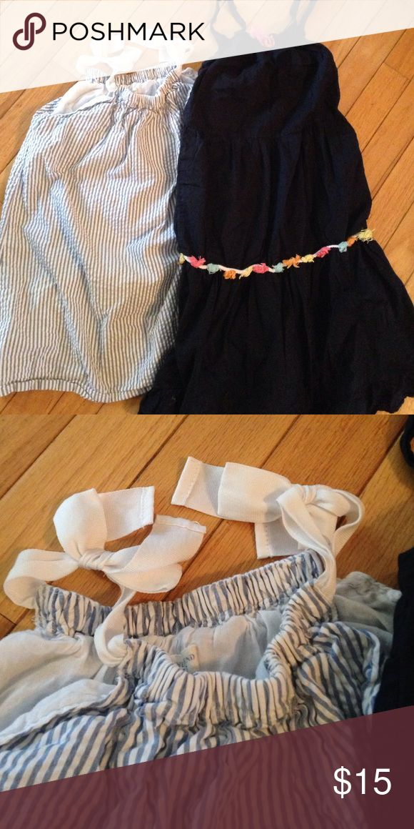 Lands End dresses for girls! I can't express enough how adorable these dresses are! Why do kids need to grow? Excellent condition! Lands' End Dresses Casual