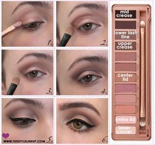 Simple #Naked3 tutorial www.pampadour.com