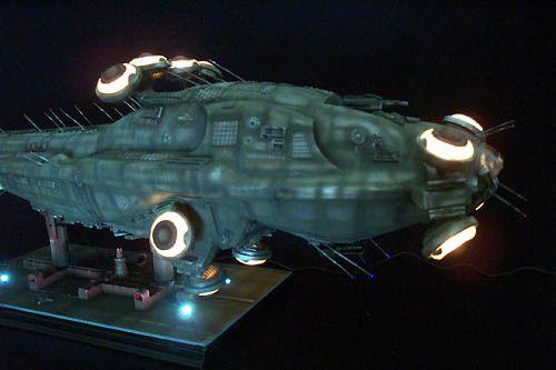 ModelGeek :: The Neb: 1st Matrix hovercraft scale replica ...