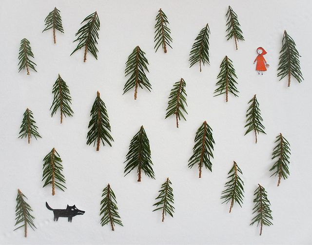 Little Red Riding Hood by Tatiana Khlopkova.