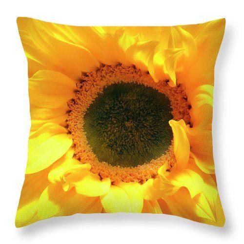 Glorious Sunflower as a pillow. Great beautiful and inspiring. Johanna Hurmerinta