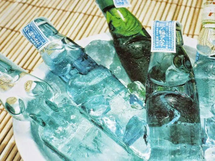 手のかかるロビンソンだなぁ。: 日本の夏にはラムネが似合う。