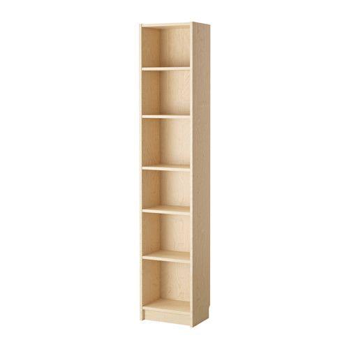 BILLY Librería IKEA Librerías estrechas para aprovechar al máximo el espacio de tus paredes.