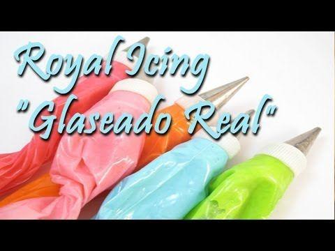 Cómo hacer Royal Icing. ¡Muy fácil, rápido y rico! - YouTube