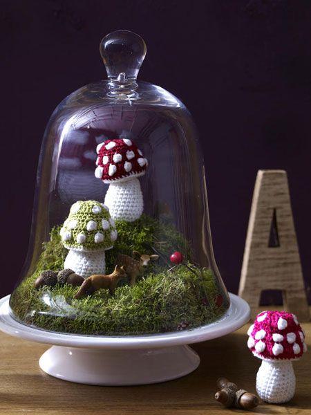Pilze kennen Sie nur aus dem Wald? Das wird sich bald ändern, denn ab jetzt dekorieren wir mit den herbstlichen Deko-Objekten unsere