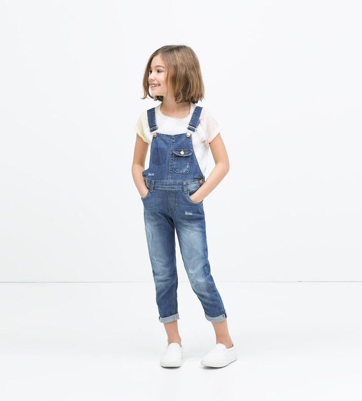 Printed crop top-Shirts & Blouses-Girl (3-14 years)-KIDS | ZARA United States