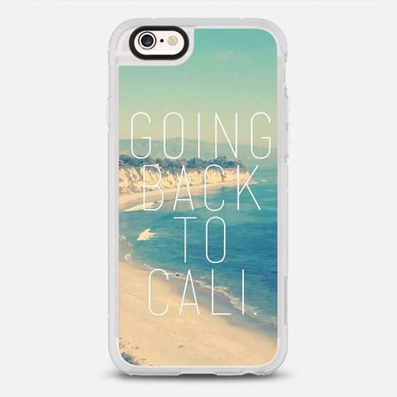 Going Back To Cali Vintage Instagram Beach - New Standard Case
